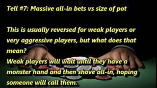 How to Spot Online Poker Tells - 9 online poker tells you can identify