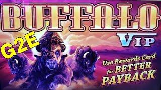 •G2E 2018• NEW Buffalo VIP Slot Machine PREVIEW w/NG SLOT | | Global Gaming Expo 2018 | LAS VEGAS