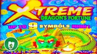 •️ NEW -  Dragon's Fortune Xtreme slot machine, bonus
