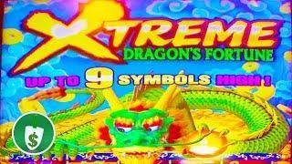 •️ NEW -  Dragon's Fortune Xtreme slot machine, bonus