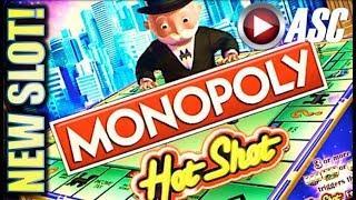 •NEW SLOT!• MONOPOLY HOT SHOT (SG) • AROUND THE BOARD BONUS WIN! Slot Machine Bonus