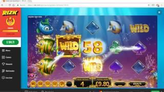 Golden Fish Tank Big Win #2 :) • Craig's Slot Sessions