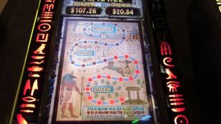 THE MUMMY Slot Machine- Progressive Bonus-Cosmo-Las Vegas With Boots