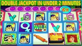 • DOUBLE JACKPOT IN UNDER 2 MINUTES • MAX ACTION HIGH LIMIT SLOT MACHINE POKIES •