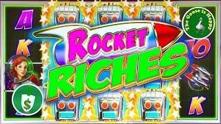 Rocket Riches Class II slot machine, Nice Bonus