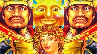 THE SUN, THE FRUIT, & THE SAMURAI! WINS FROM HARD ROCK CASINO Slot Machine (Konami Gaming)