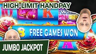 ⋆ Slots ⋆ HIGH-LIMIT HANDPAY ⋆ Slots ⋆ The Slot Machine Action NEVER STOPS with The Raja
