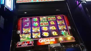 Gremlins Slot Random Wild Feature (Gremlins Mode) 2c Denom!