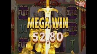 Mighty Arthur Slot - Lots Of Wilds (Poor payout!)