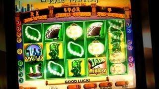 Jade Monkey Bonus !!!!! - 5c WMS Slots