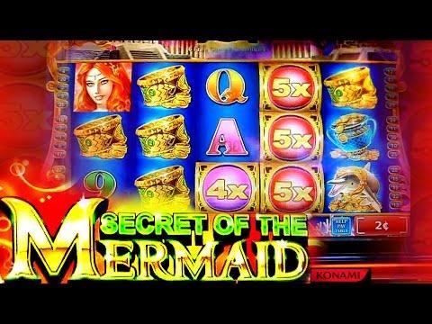 Secret of the Mermaid  - Bonus Free Spins on 2c Konami Video Slot