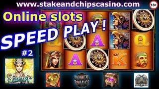 Online Slots Session - SPEED PLAY #2 • CASINO BONUS & WINS
