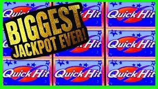 • BIGGEST QUICK HIT JACKPOT ON YOUTUBE • 9 QUICK HITS • OVER $60000 HANDPAY!