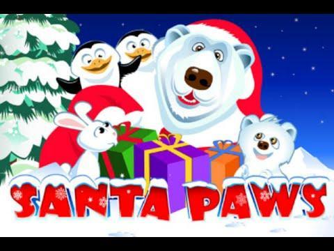 Free Santa Paws slot machine by Microgaming gameplay ★ SlotsUp