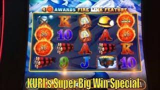 •SUPER BIG WIN•KURI's SUPER BIG WIN SP 13•GREAT GUARDIANS/FIRE LINK (GLACIER GOLD)Slot Live Play &•
