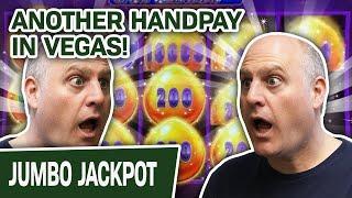 ⋆ Slots ⋆ ANOTHER Handpay! ⋆ Slots ⋆ Drop N' Lock SLOTS on the LAS VEGAS STRIP