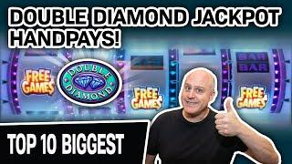 ⋆ Slots ⋆ IN. SANE! ONLY Double Diamond Free Games HANDPAYS! ⋆ Slots ⋆ Here Are My 10 BIGGEST = $45,000+ WON