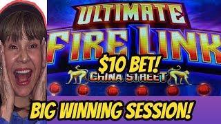 WOO HOO! $10 BET!  HUGE WINNING SESSION