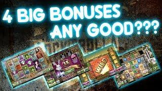 4 BIG Bonuses Saved!!! Any Good???