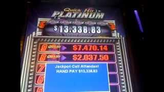 QUICK HIT  slot machine PLATINUM JACKPOT