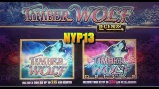 Aristocrat - Timber Wolf Deluxe Slot Bonus WIN