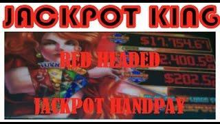 JACKPOT HANDPAY Bonus plus Fun warm up hits!!
