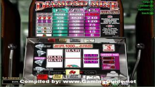 Diamond Mine Deluxe 3 Reel Slots