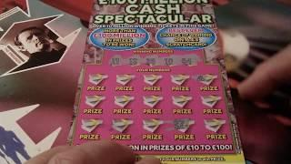 "Scratchcard Game...it ""England""World Cup Run=up Game..Lots of red & yellow Cards Shown in this game"