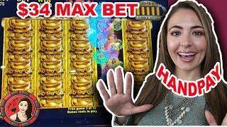 Royal Caribbean HANDPAY on Golden Prosperity Slot Machine!