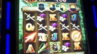 Bally Lady Robin Hood free spin bonus Free spins Bulleyes Wild Reels