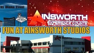 AINSWORTH SLOT MACHINE COMPANY TOUR!