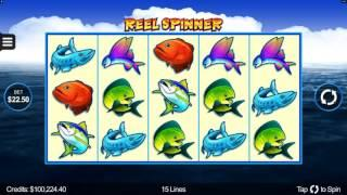 Reel Spinner Slot Features and Game Play - by Microgaming