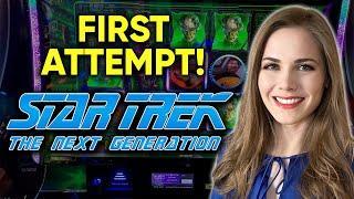 Trying The NEW STAR TREK Slot Machine!