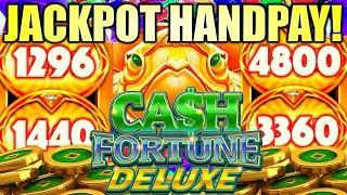 ⋆ Slots ⋆JACKPOT HANDPAY!⋆ Slots ⋆ ⋆ Slots ⋆INCREDIBLE LUCK!! CASH FORTUNE DELUXE TURTLE Slot Machine (Aristocrat Gaming)