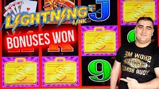 Back To Back Bonuses On High Limit Lightning Link ! $1,000 Challenge To Beat The Casino ! EP-12