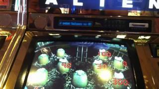 Alien Slot Machine Bonus - High Limit  - Egg Picks