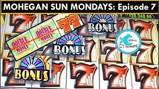 MOHEGAN SUN MONDAYS! HOT SHOTS Slot Machine: Part Deux! BIG WIN!