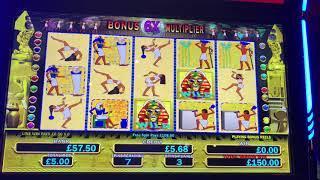 £5 max bet bonus of pharaohs fortune deluxe