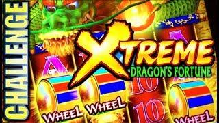 •$300 ARUZE SLOT CHALLENGE! • • XTREME DRAGON'S FORTUNE Slot Machine Bonus (PART 1 OF 3)