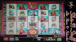 High Limit slots Stinkin Rich Bonus Jackpot Time!