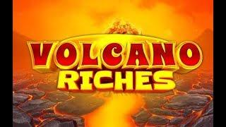 Volcano Riches Online Slot from Quickspin with Erupting Volcano Wilds
