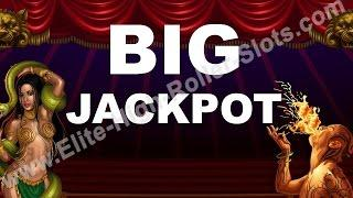 •Twisted Circus Slot! $3,777 Dollar Win! Jackpot Handpay Aristocrat, IGT WMS Casino Vegas High Limit