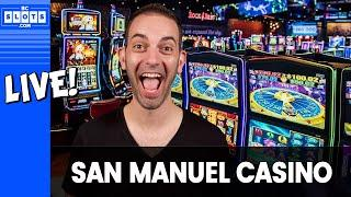 •$500 to Start! •Brian goes 'downtown' at @San Manuel Casino • BCSlots