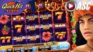 QUICK HIT VOLCANO (SG/BALLY) | •️ QUICK HIT SLOTS GAME APP REVIEW!