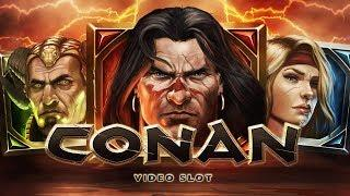 Conan Video Slots• - NetEnt