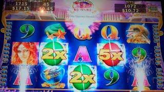 Secret of the Mermaid Slot Machine Bonus - 13 Free Games with Wild Multipliers - NICE WIN