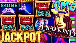 High Limit DIAMOND QUEEN Slot HANDPAY JACKPOT | High Limit Thunder Cash Slot HANDPAY JACKPOT