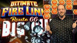 NEW GAME•ROUTE 66• Ultimate Fire Link• Live Play• Fire Ball Bonus•