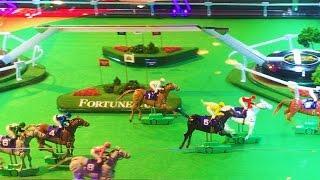 #G2E2016 Konami   NEW Fortune Cup Horse Race 'slot machine'
