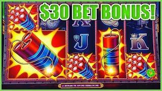 ★ Slots ★HIGH LIMIT SUPERLOCK Lock It Link Eureka Reel Blast  ★ Slots ★$30 Max Bet BONUS ROUND Slot